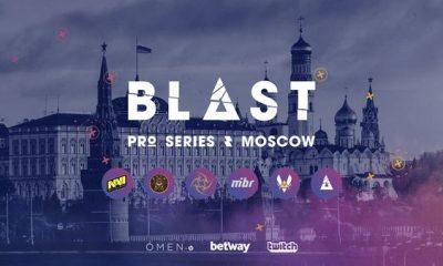 CSGO blast pro series moscow pro