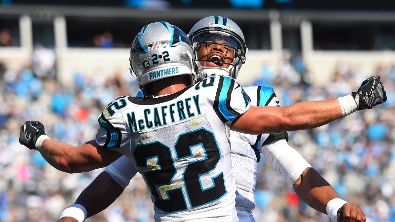 NFL week 2 Thursday panthers