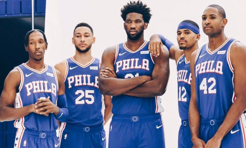 Philadelphia 76ers team photo