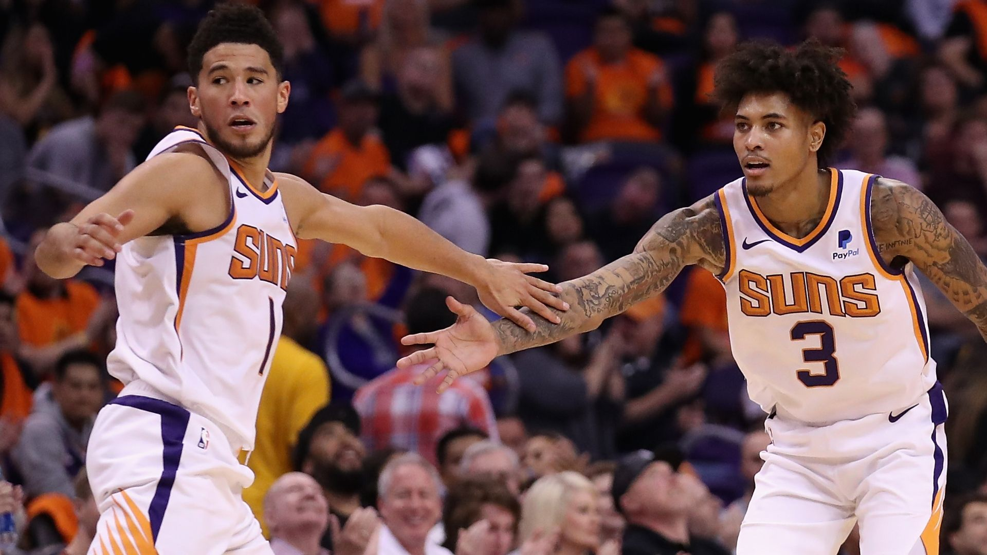 Oubre and Booker
