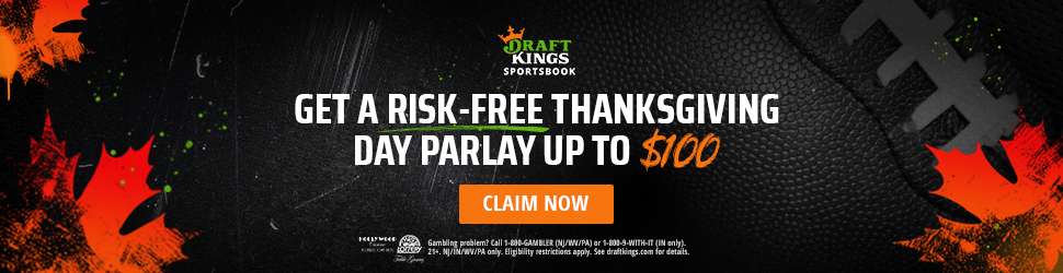 draftkings thanksgiving day parlay promotion