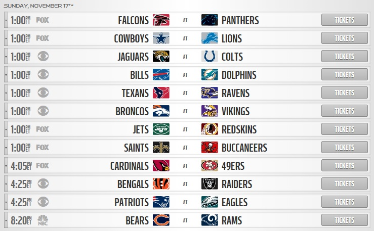 nfl week 11 betting picks sunday schedule
