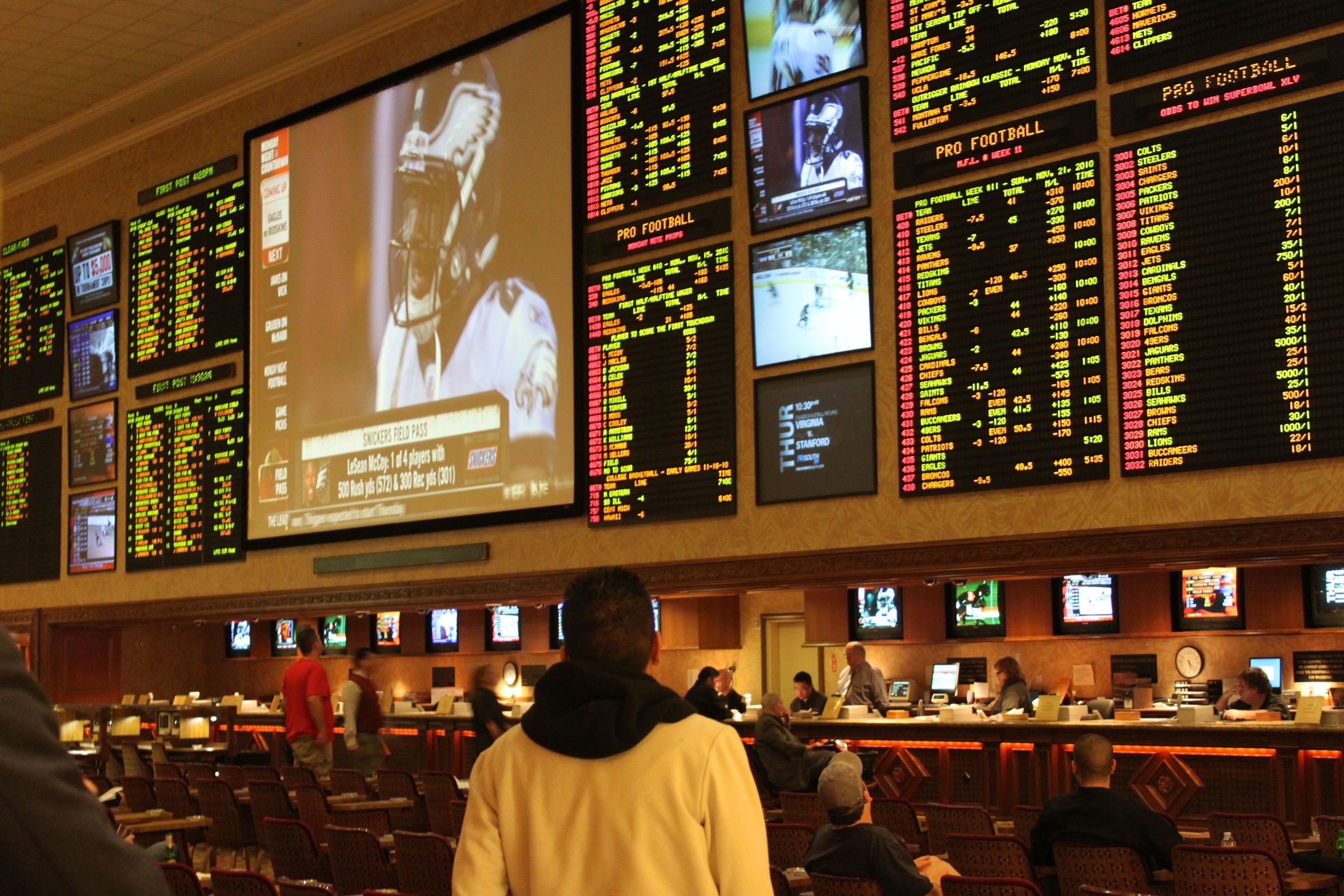 Data and parlay betting