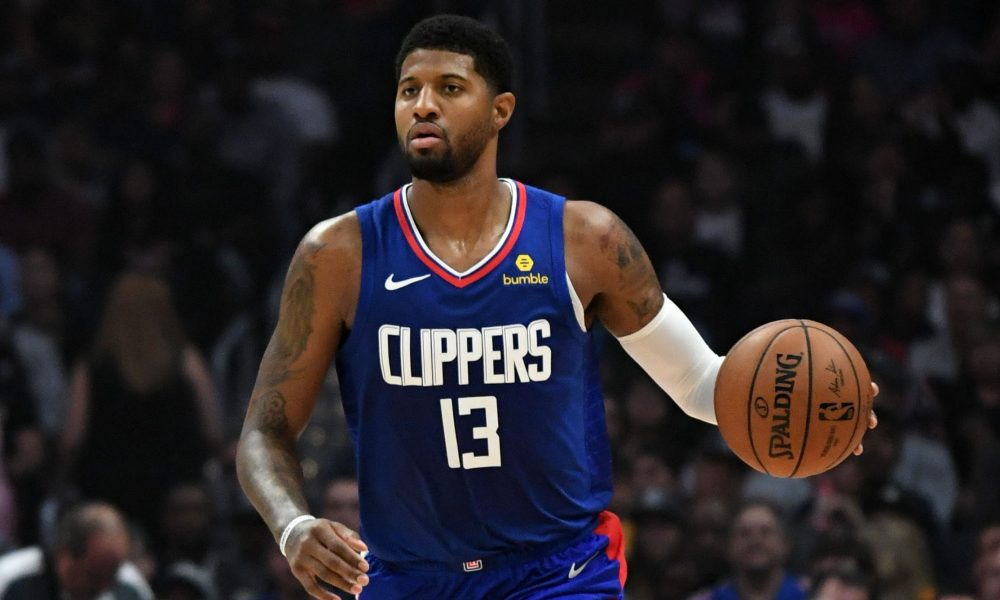 Paul George of the Clippers