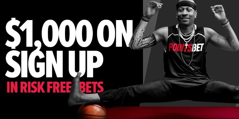 pointsbet risk free $1000 sign up bonus