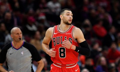 Zach LaVine of the Bulls