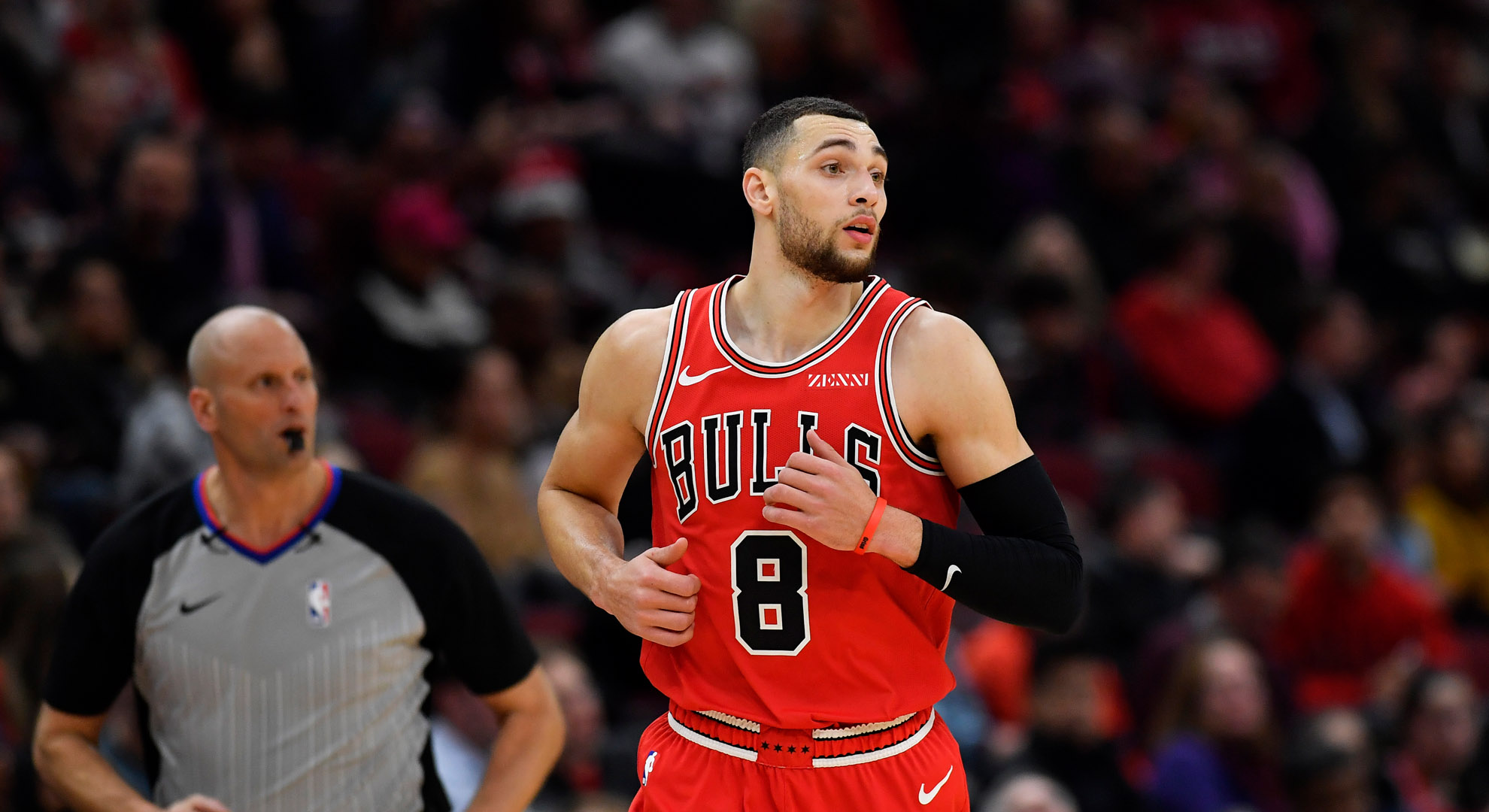 Zach LaVine of the Bulls