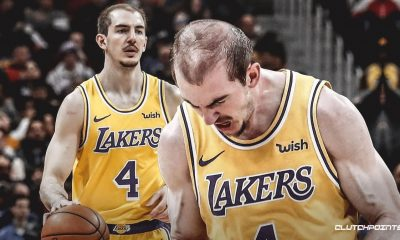 Alex Caruso of the Lakers