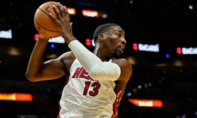 Bam Adebayo of Miami Heat