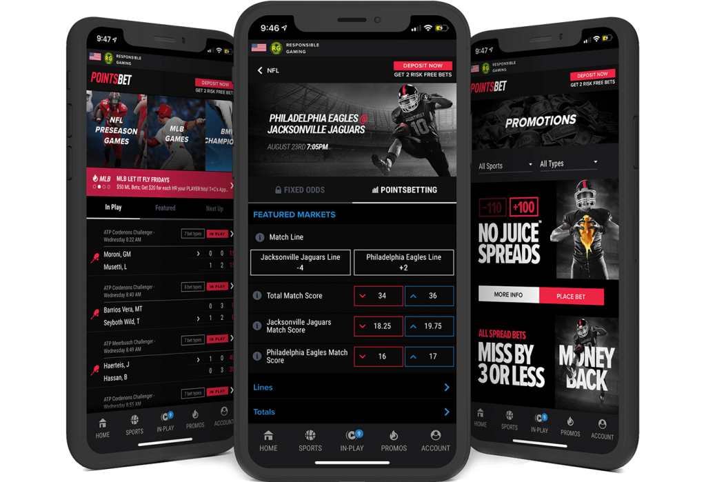 pointsbet mobile app