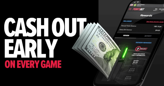 pointsbet early cash out promo