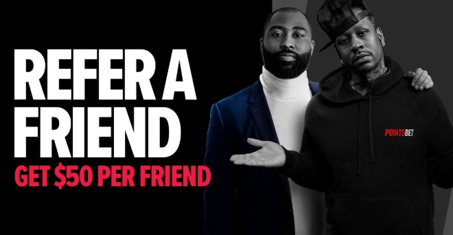 pointsbet refer a friend