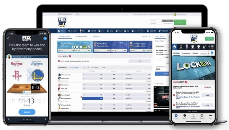 foxbet mobile app website