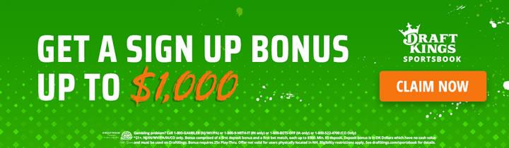 DraftKings $1000 Bonus