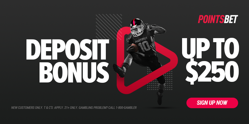 pointsbet sign up $250 bonus