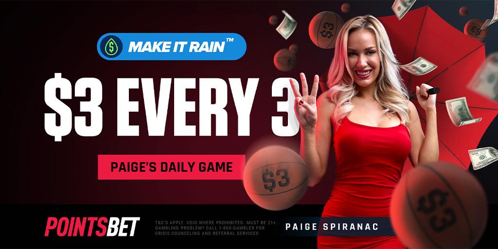 PointsBet Make It Rain